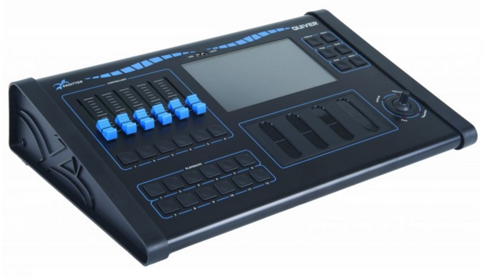 Sagitter new DMX lighting console. Made in Italy