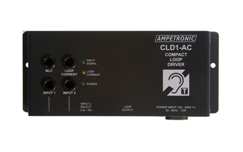 CLD1 Induction Loop Driver Multi PSU no Mic, with Loop Coil