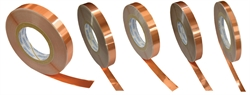 Copper Foil Tape 10mm wide 0.1mm thick 50m reel UL approved 1.0mm²