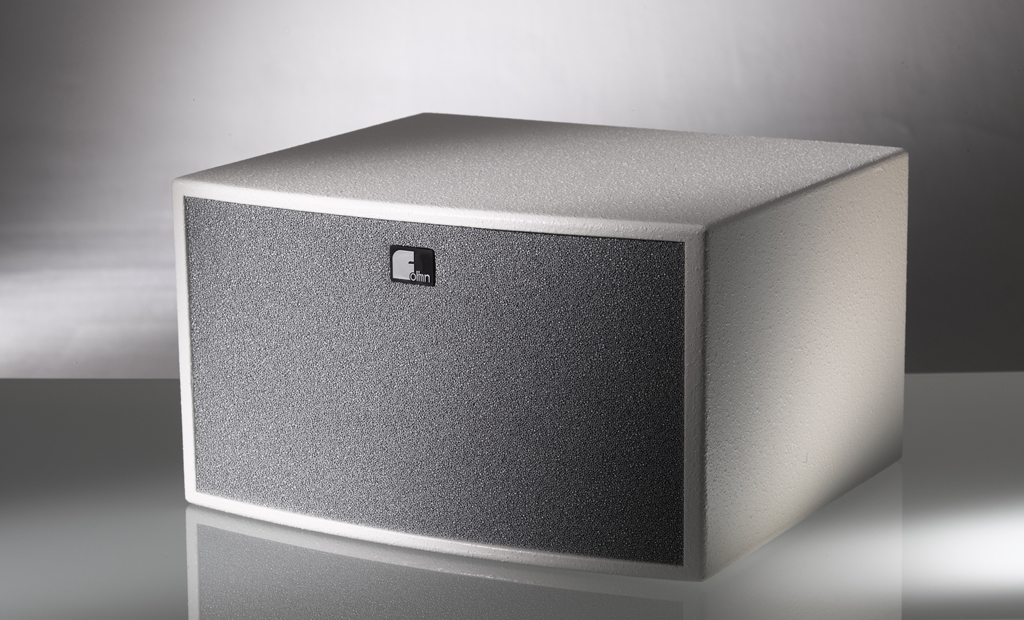 Fohhn, ASP-10, Subwoofer, 300W, 2 x 6, 2 x 8ohm, 9kg, with crossover, black.