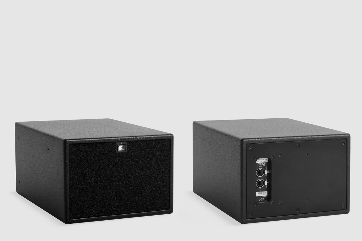 Fohhn, AS-06 ASX, Ultra-compact, active subwoofer with DSP, 1x6.5, 150 W, black