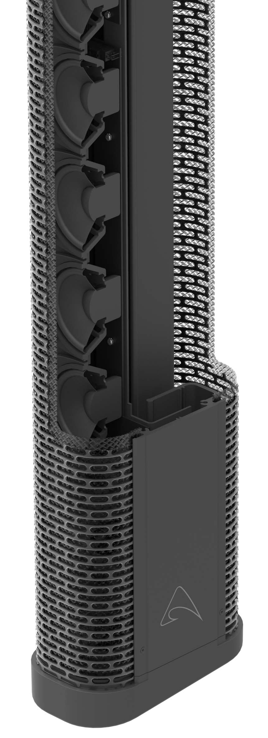 AXIOM. High Power, Passive, Portable Line Array Element 12 x 3.5 inch