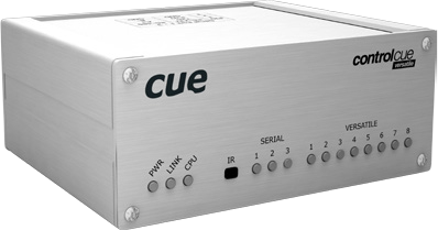 CUE, controlCUE-versatile, Ethernet IP enabled controller with serial and versatile ports