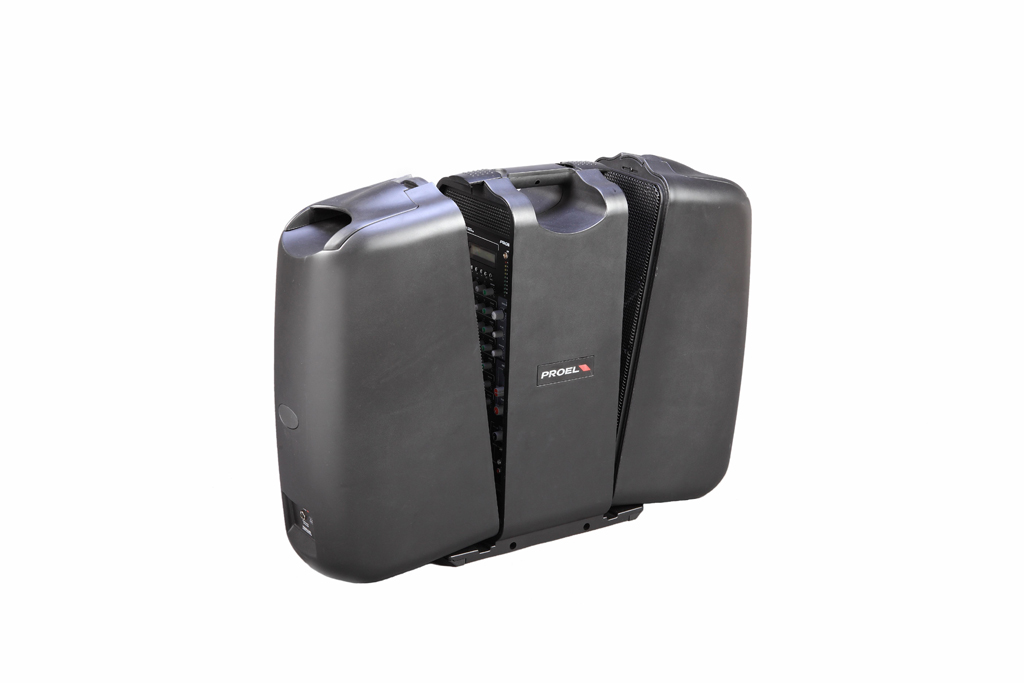 Proel 3Way  Ultra Portable system. 7mic/line inp. 1st inp.  USB player. 250W CLass-D