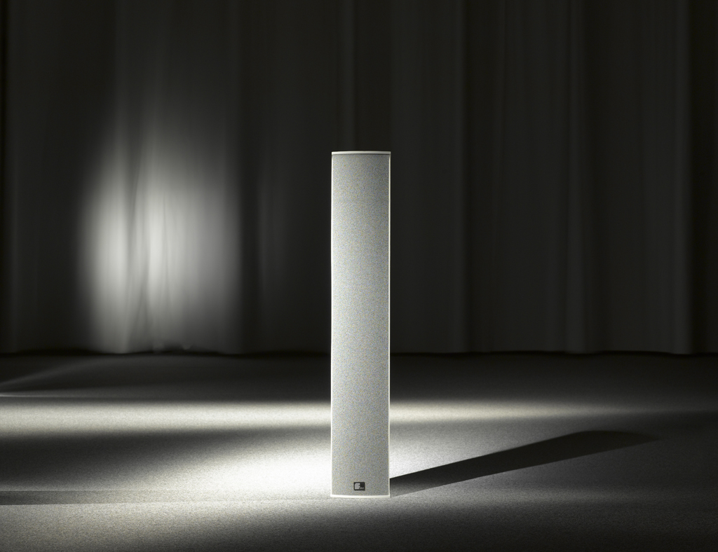 Fohhn, LX-500 Linea, Line source speaker,700W, 4x6,5/4x1waveguide, 8ohms, white textured varnish