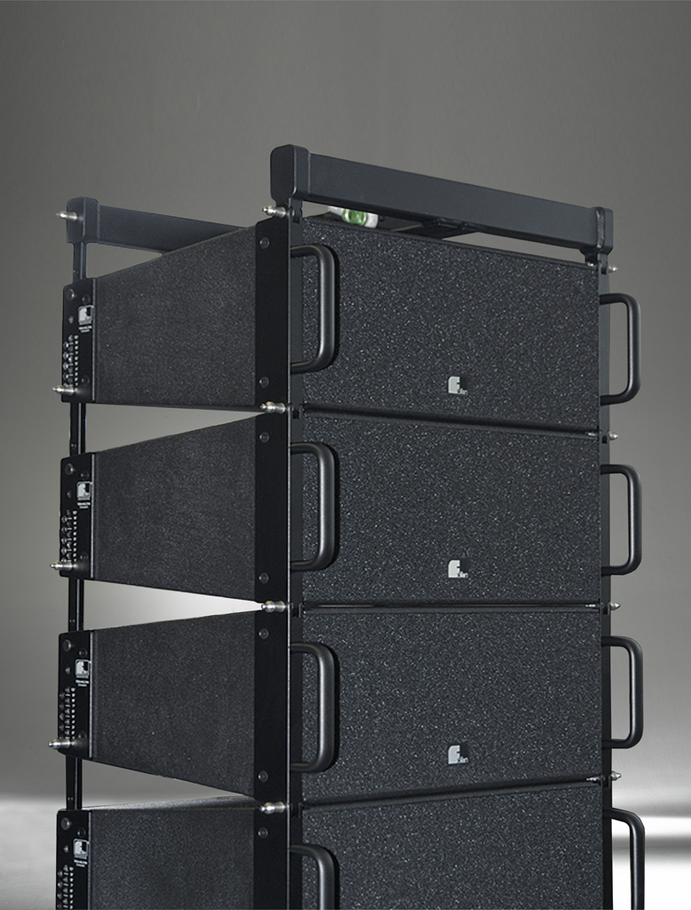 Fohhn, PT-8, WaveLine Compact line array module, twin-coaxial,2x6,5 ND / 1x1,4 ND driver, black