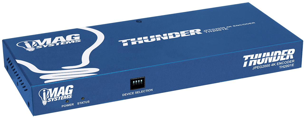 iMag Thunder 4K JPEG2000 encoder