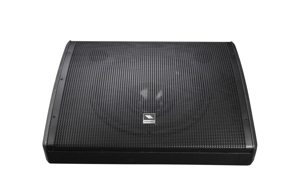Uitlopend - Proel 15/1 Horn loaded Coaxial Wedge Monitor Bi-Amped Class-D 400+50W