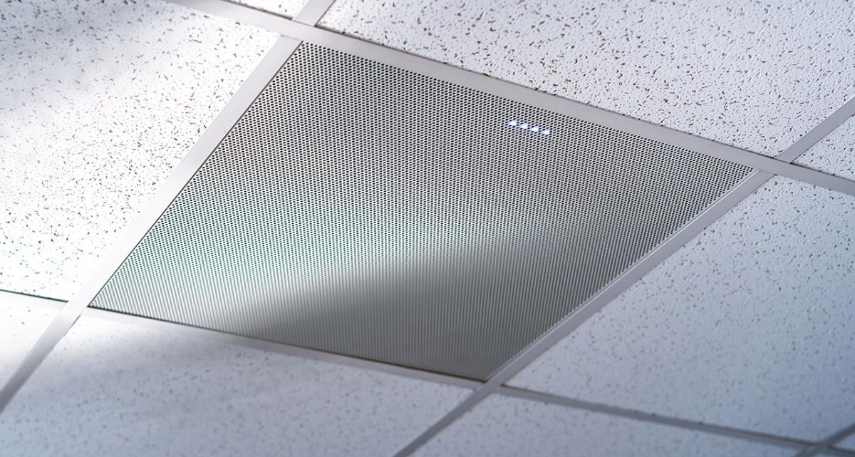 BMA CT 600 mm: Patented 600 mm ceiling tile beamforming mic array for CONVERGE Pro 2