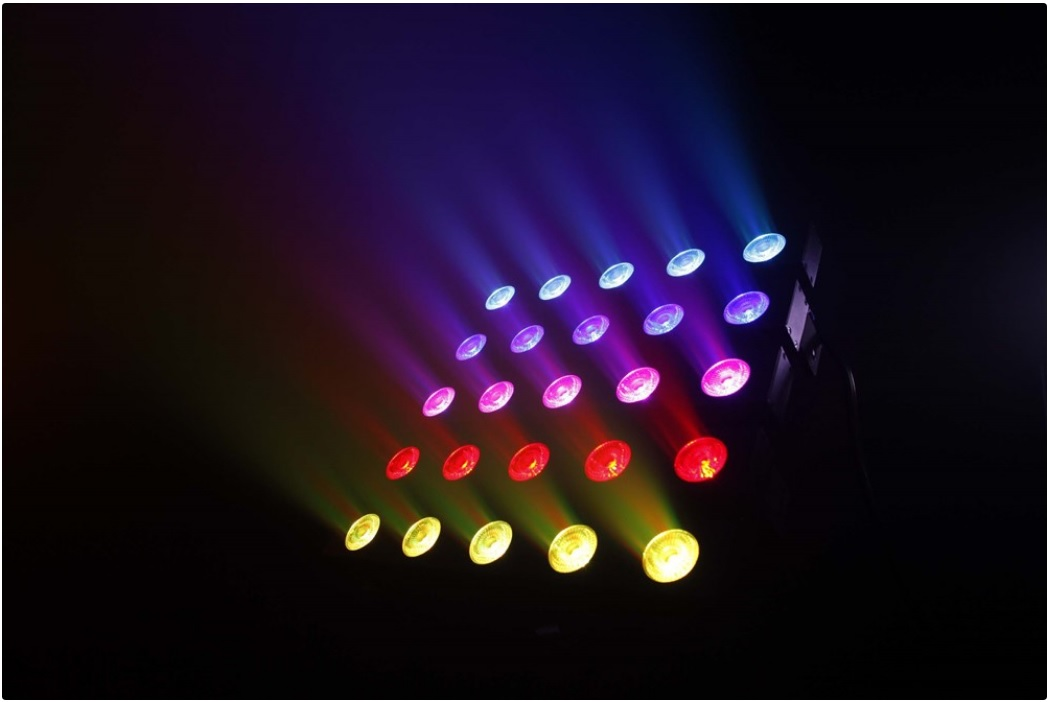 PIXI.MATRIX.5X5.10W.LED.RGBW/FC