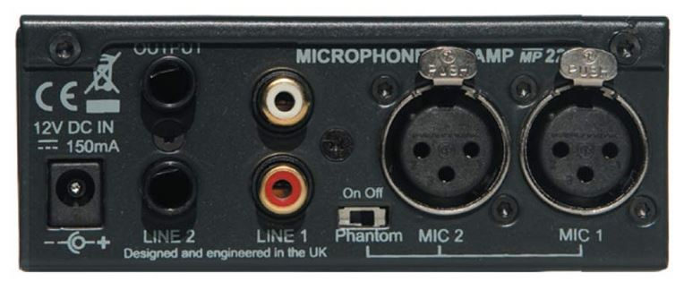 Uitlopend - MP221 Preamplifier